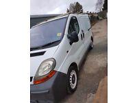 Renault Trafic SL27 DCI 100 Diesel 6 speed NO VAT new clutch.