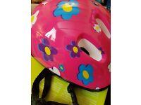 Little girls helmet (new)