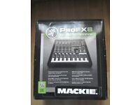 Boxed Mackie PROFX8 Mixer