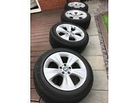 "BMW X5 E70 alloy wheels 19"""