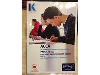 ACCA F4 - Corporate and Business Law Exam Kit & Pocket Notes