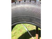 5x Goodyear Wrangler AT/S 205R16C 110/108S 8PR, M+S