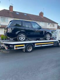 24/7 🇬🇧 Cheap Car Van Jeep 4x4 Breakdown Recovery Tow Truck Service Auction Vehicle Transport