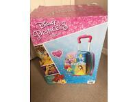 Brand new in box Disney princess suitcase