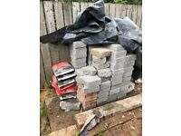 Block and cement for sale
