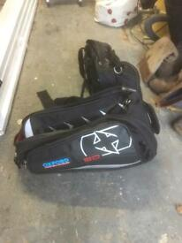 Motorcycle panniers, soft luggage