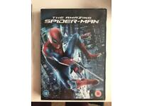 Spiderman and guardians of the galaxy DVD's new and unwrapped