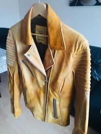 Women's real leather brand new size XL like 14