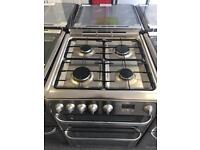 Hotpoint stainless steel cooker
