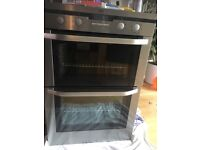 EAG Electrolux double oven