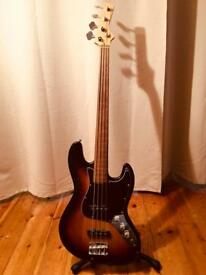 Fretless Bass Guitar