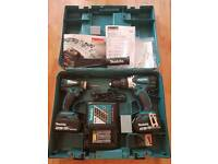 Makita combi drill and impact driver excellent condition hardly used!