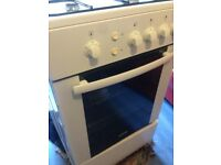 White gas cooker 50cm.......Cheap Free Delivery
