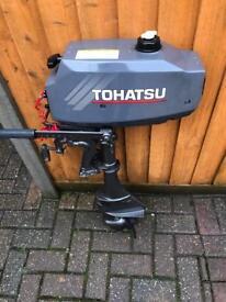 TOHATSU 3.5HP OUTBOARD MOTOR