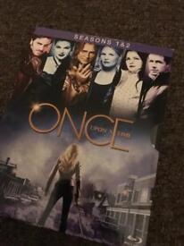 Once Upon A Time Season 1&2 Blu-ray