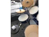 Full size Chase Drum kit...excellent condition.