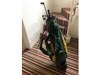 Golf clubs with FREE golfbag