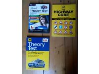 AA Driving Theory book, AA Highway code and Instructional DVD rom incl. hazard perception tests