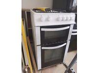 White cooker Logik gas 50 cm
