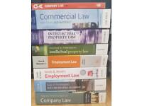 Law Text and Cases Books x8