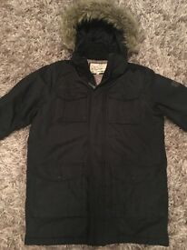MENS/BOYS BRAVE SOUL WARM WINTER JACKET £10 worn once as new condition