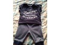 Lovely baby boys clothes bundle 0-3