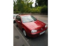 Well kept VW Golf 1.6 with full service history for sale - £1000