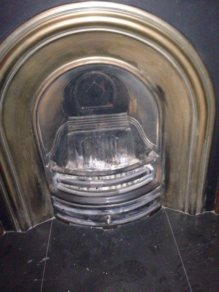 Cast iron fireplace incert £250