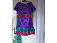 Bollywood fancy dress skirt and top