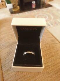 Pandora twist ring, size 58