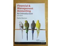Financial and Management Accounting: an introduction sixth edition.