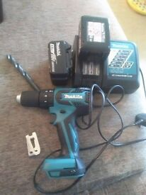 Makita DHP459 Drill in new condition