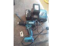 Makita DHP459 Drill in new condition