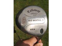 Calloway Big Bertha Driver 10 degrees