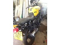 project bike kawasaki gpz 500 streetfighter mot may 2017