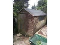Shed- buyer to dismantle and collect