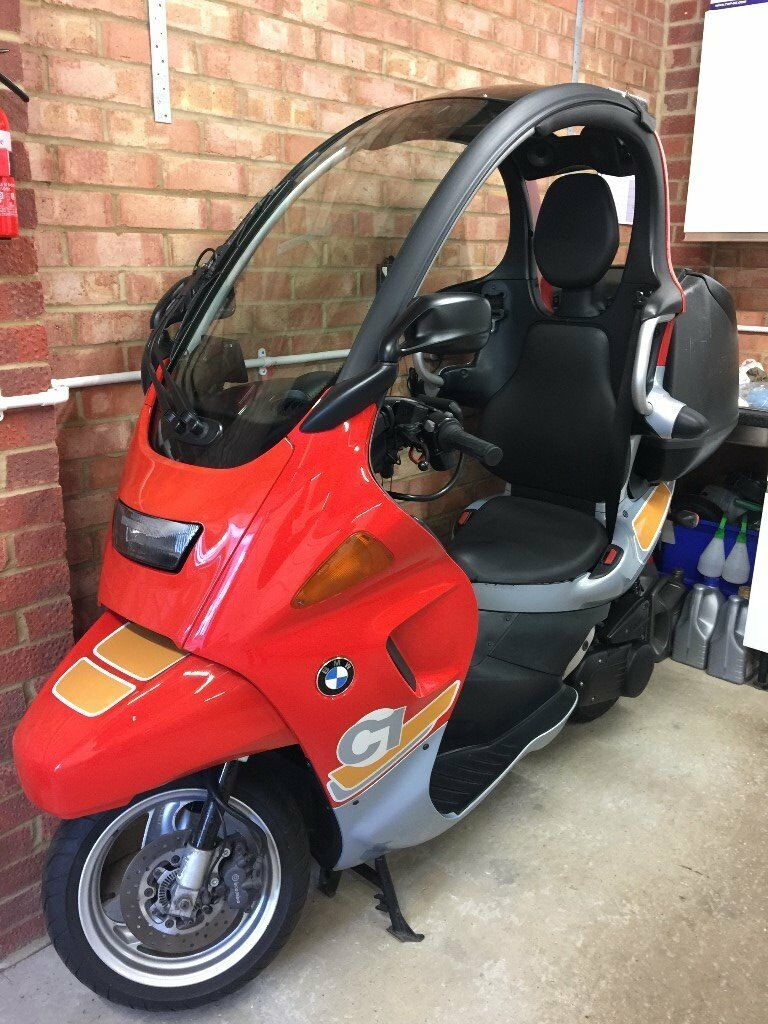 Bmw C1 125 Cc Every Bmw Factory Option Mint Condition In