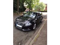 Audi A3 1.6 TDI S LINE Black 5dr Sportback Sport / Hatchback Diesel FSH STOP / START £20 Road Tax