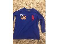Polo Ralph Lauren kids long sleeve t-shirt