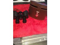 Europa binoculars with leather case in excellent condition