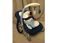 Chicco Baby Bouncer Chair / Seat in Blue