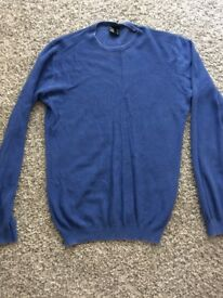ORIGIN new mens blue jumper size medium ! Bargain !