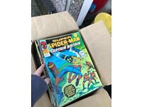 Assorted spider man/ marvel comics dated 1977/78