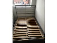 Double bed frame - Ikea Sultan Lien