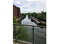 2 bed, 2 bath city centre apartment, with parking, Roberts Wharf, leeds
