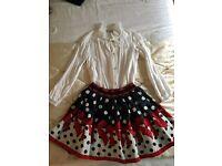Girls monnalisa skirt blouse & jumper