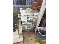 About 400 never been laid block paving