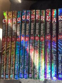 Darren Shan -Cirque du Freak books 1-12