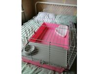 Large rabbit cage good condition