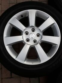 Suzuku grand vitara sz5 alloy wheels x 4